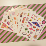 Kit Sticker Book 2.0 + Cartelas (11 un.)