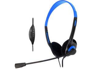 Krazilla KZH800 USB Gaming Headset with Microphone and Volume Control / Mute