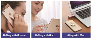 U-Ring: 64GB World's First Magnetic Flash Drive for iPhone