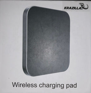 Krazilla Wireless Charge Pad for iPhone x/8 and Android