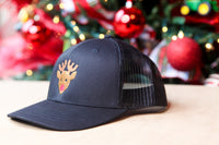 Kids/Youth/Toddler Trucker Hat with Rudolph
