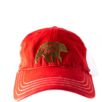 Women's relaxed fit Trucker Hat with mama bear