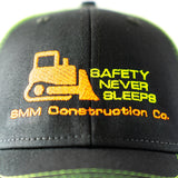 Custom Construction Neon Trucker Hat, youth/child/toddler fit