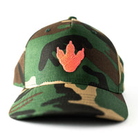 Toddler/Child/Youth Embroidered Camo Trucker Hat with Pink Dino Print