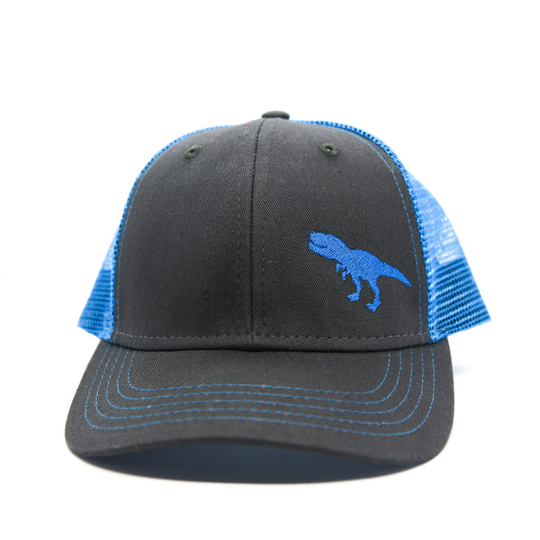 Toddler/Youth/Child Trucker Hat with T-Rex Dinosaur