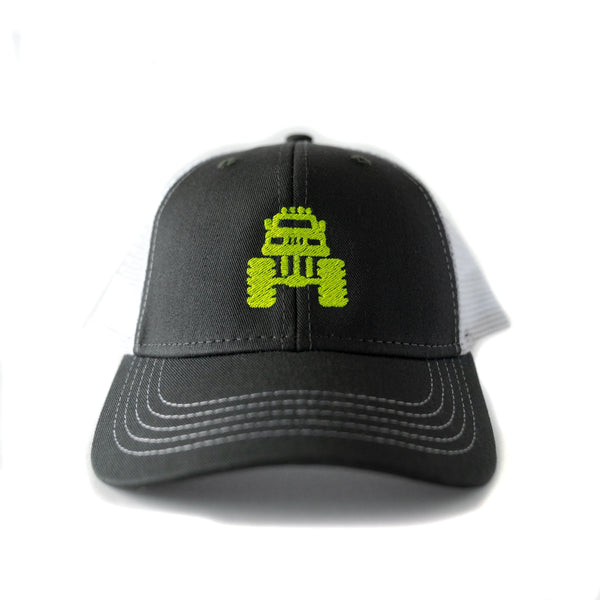 Kids Monster Truck Hat, the perfect accessory for little kids and big kids