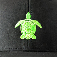 Kids Trucker Hat with Sea Turtle, perfect beach accessory for big and little kids