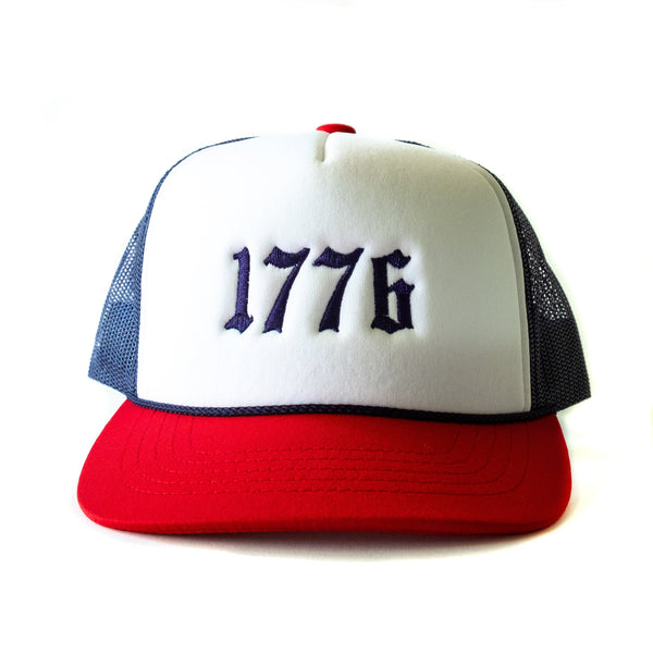 Kids 4th of July  Trucker Cap