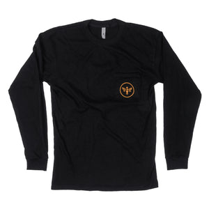 King Bee Long Sleeve Pocket-T