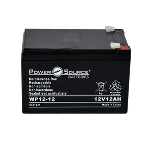 WP12-12 AGM Battery