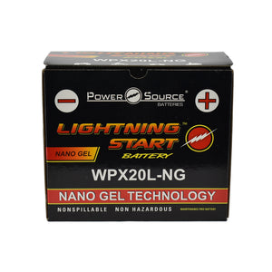 WPX20L-NG Nano Gel Battery