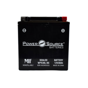 WPX30L-BS AGM Battery