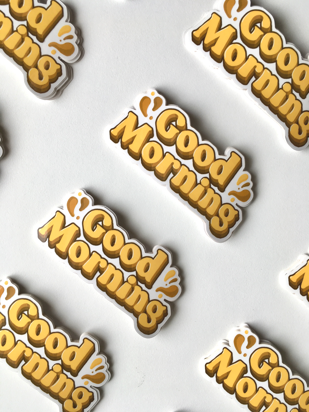 Good Morning II Stickers