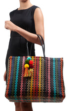 Bombon Tote Colorina Black