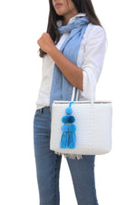 Bombon Tote Mini White