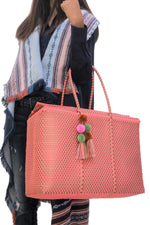 Bombon Tote Coral / Gold