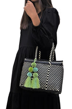 Bombon Tote Mini Black / Bone