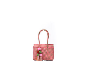 Bombon Tote Mini Coral / Gold