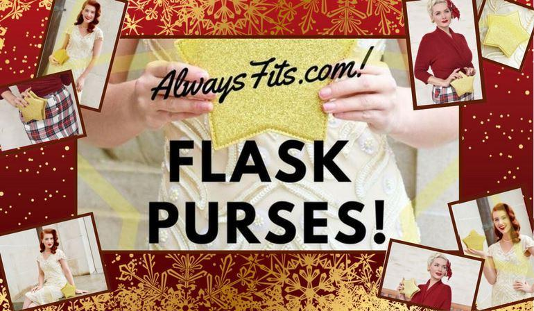 Festive Flask Purses That'll Make Your Holiday a Merry One