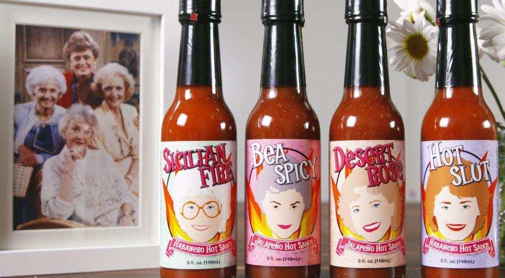 Golden Girls Hot Sauce: Get 'Em While They're Wicked Hot