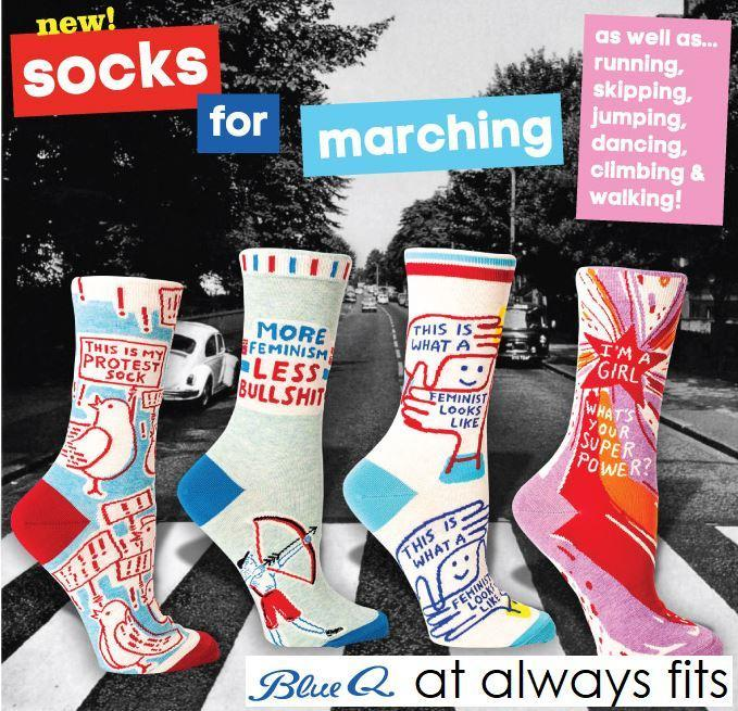 These Socks are Made for Marching, That's Just What They'll Do!