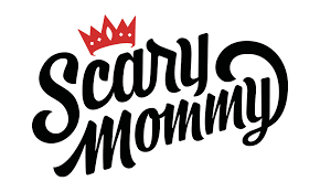 Scary Mommy- Blue Q Oven Mitts