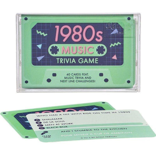 1980's Music Trivia Cassette Tape Quiz