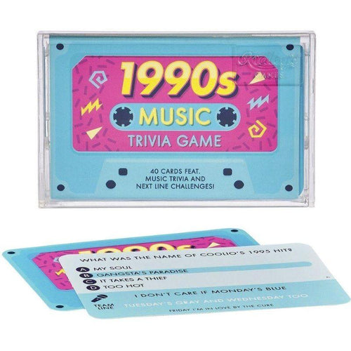 1990's Music Trivia Cassette Tape Quiz