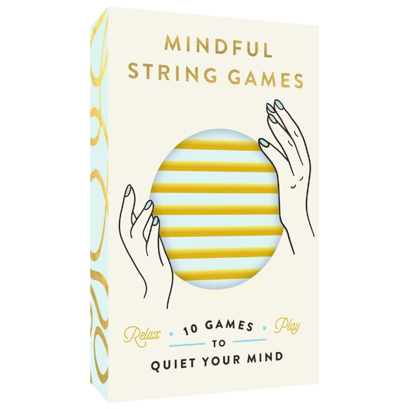 Mindful String Games Book - 10 Games to Quiet Your Mind