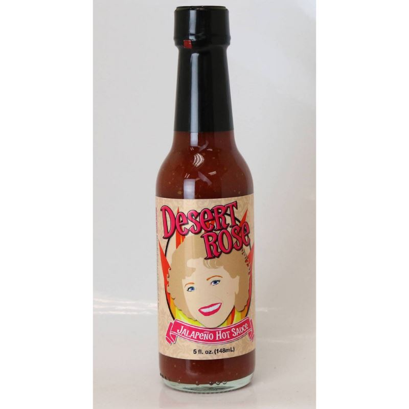 Golden Girls Inspired Hot Sauce 4-Pack Set