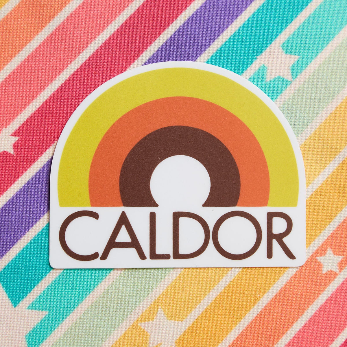 Caldor Vinyl Sticker