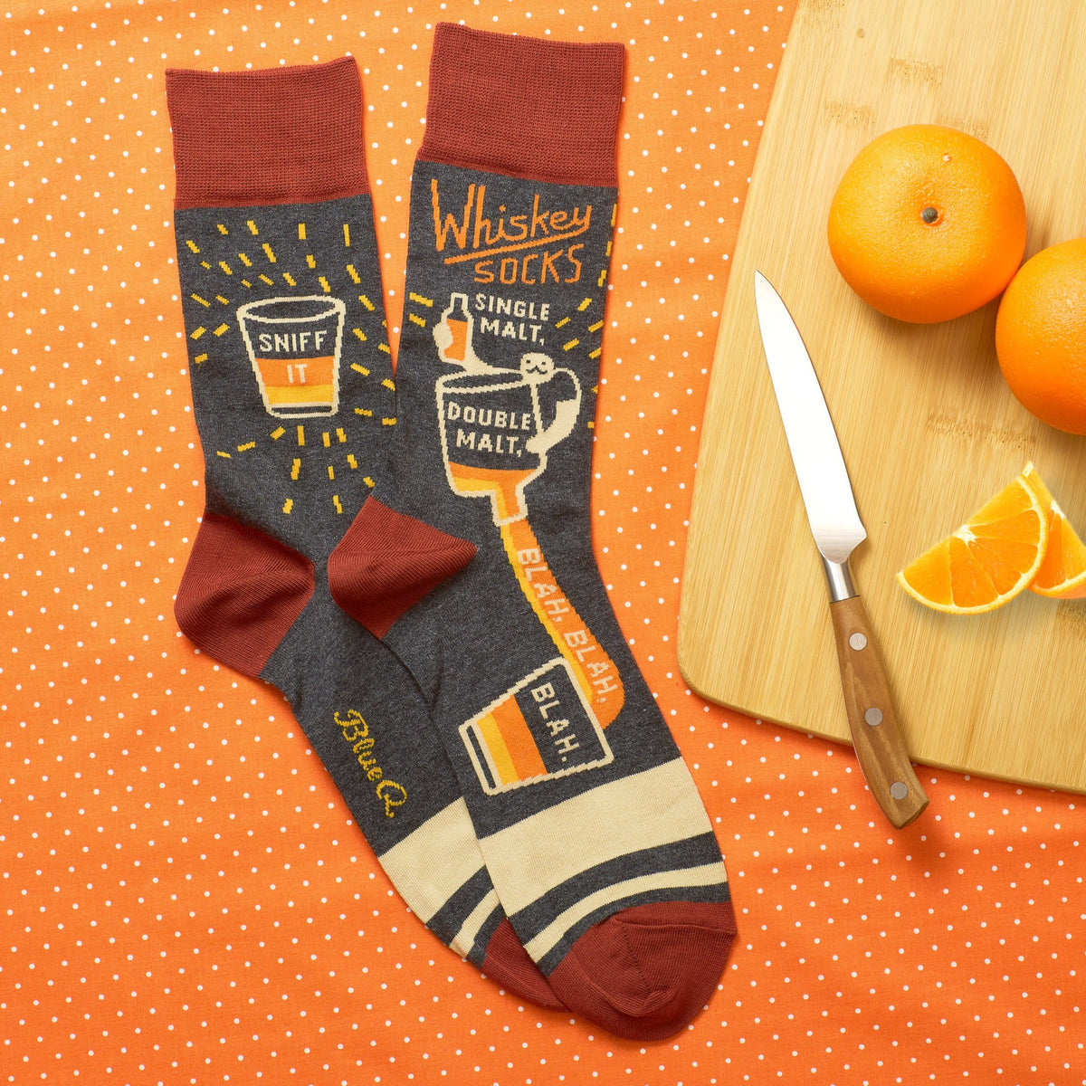 Whiskey Men's Crew Socks