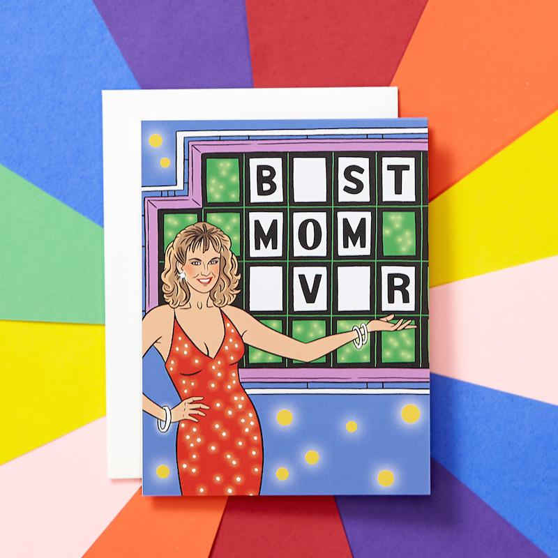 Wheel of Fortune Best Mom Ever Card