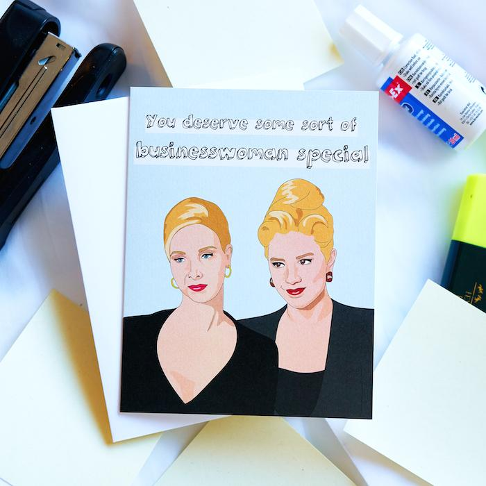 You Deserve Some Sort of Businesswoman Special Card