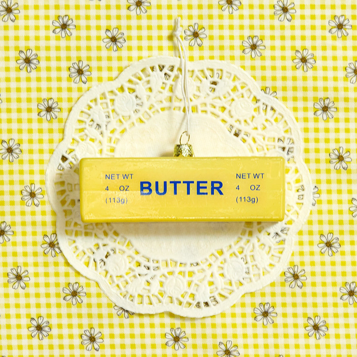 Stick of Butter Glass Ornament - Cody Foster & Co - AlwaysFits.com