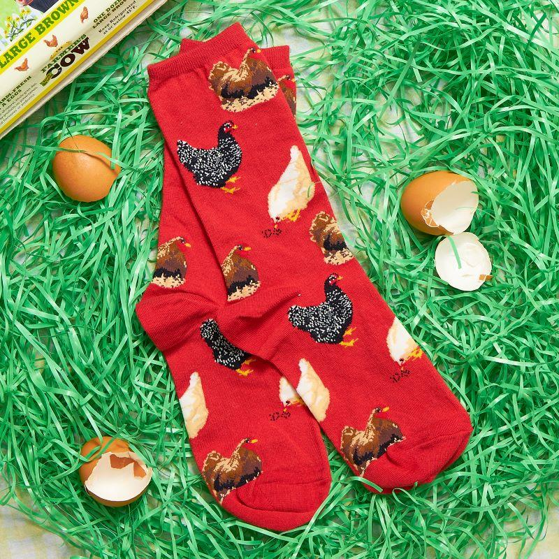 Chicken Hen House Women's Crew Socks