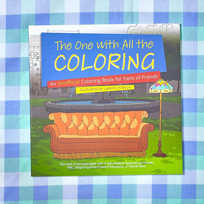 The One with All the Coloring Friends Coloring Book