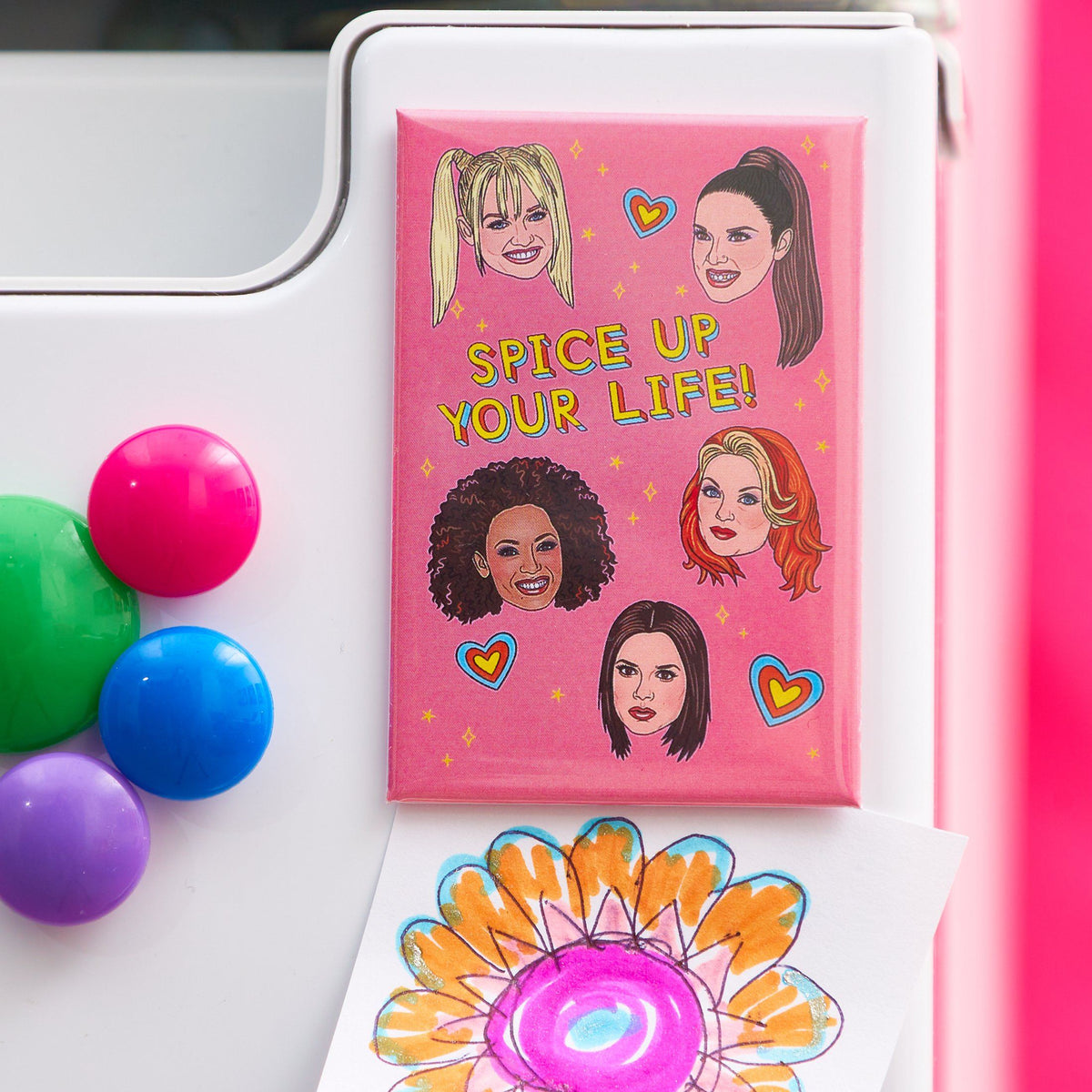 Spice Up Your Life Magnet