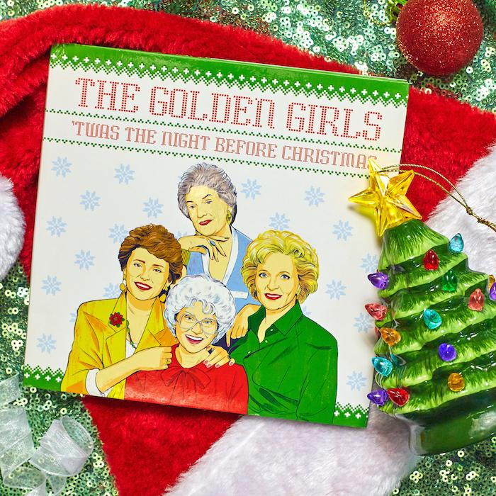 The Golden Girls 'Twas the Night Before Christmas Book