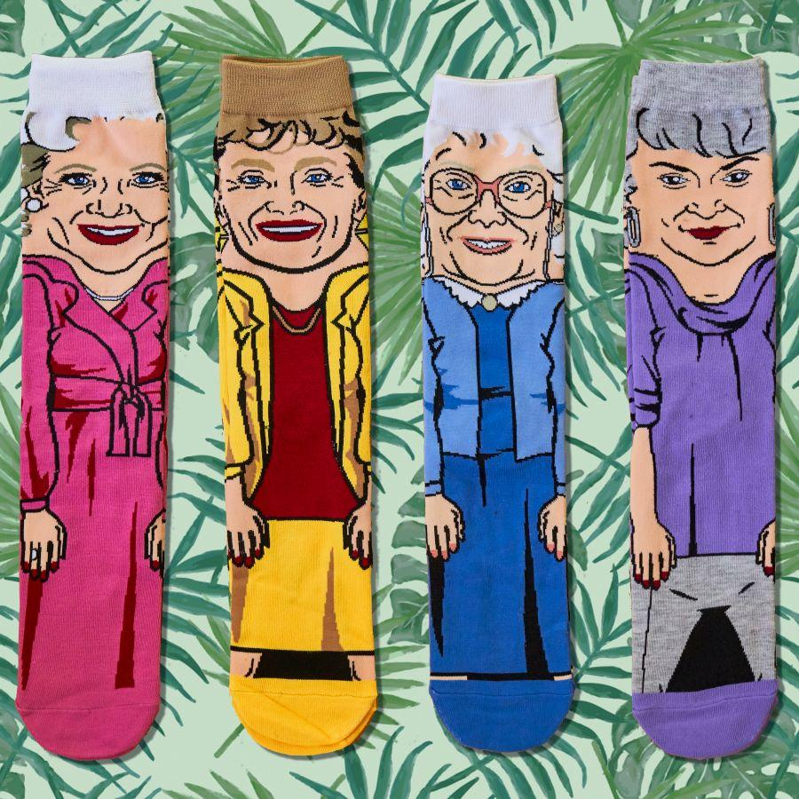 Golden Girls Rose Unisex Crew Socks