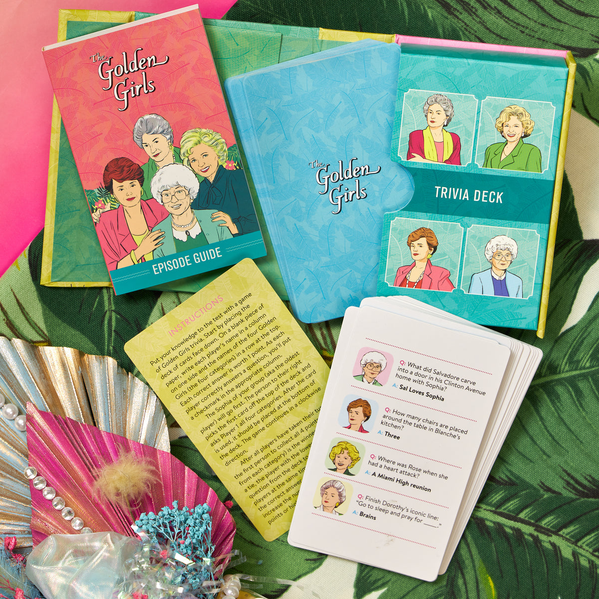 The Golden Girls Trivia Deck and Episode Guide