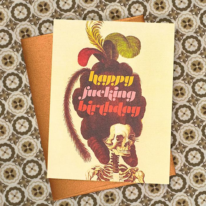Happy Fucking Birthday Card - Offensive + Delightful - AlwaysFits.com
