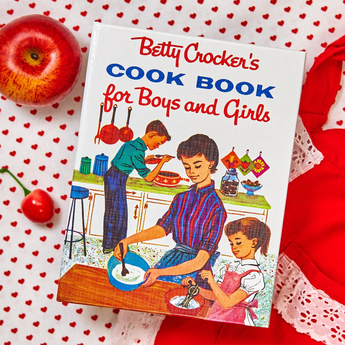 Betty Crocker's Cookbook for Boys and Girls 1957 Edition