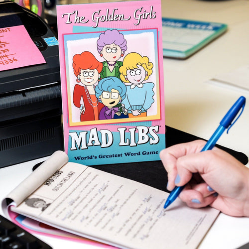 The Golden Girls Mad Libs Game - Penguin Random House - AlwaysFits.com