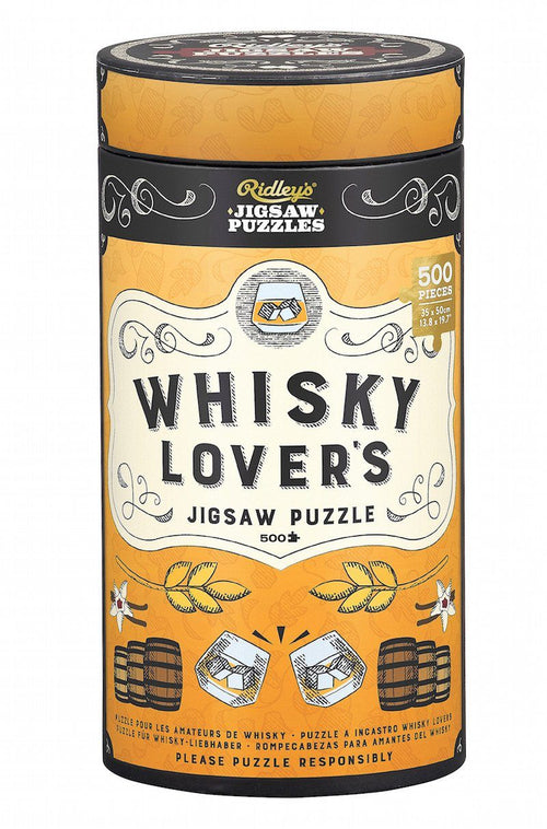 Whisky Lovers 500 Piece Jigsaw Puzzle