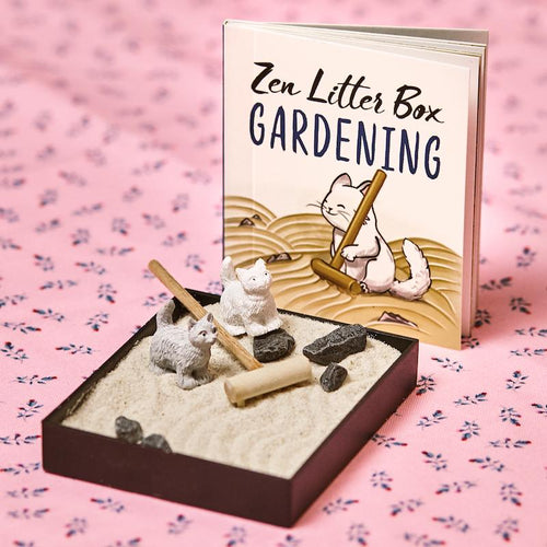Zen Garden Mini Litter Box - Hachette Book Group - AlwaysFits.com