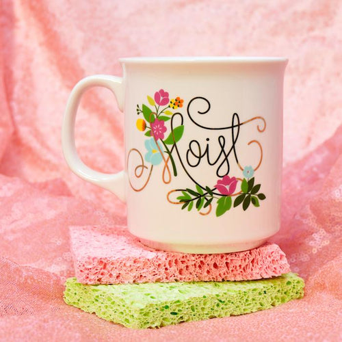 Moist Porcelain Coffee Mug - Fred & Friends - AlwaysFits.com