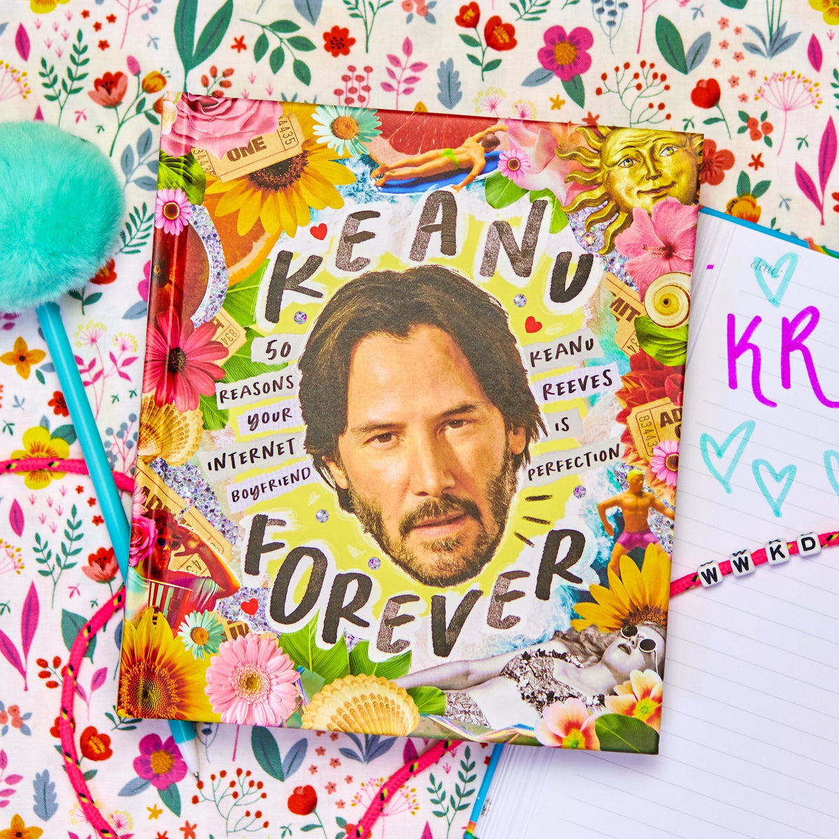 Keanu Forever Book - 50 Reasons Your Internet Boyfriend Keanu Reeves Is Perfection
