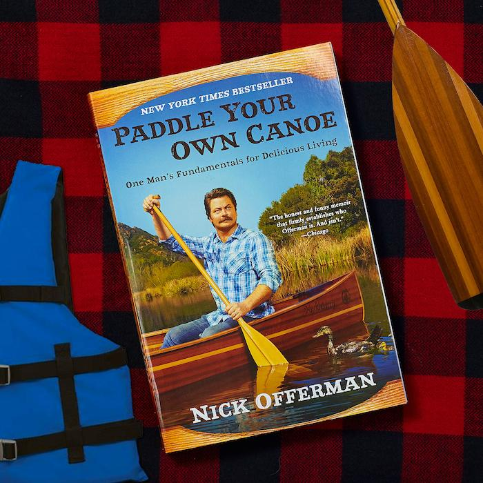 Paddle Your Own Canoe Book - One Man's Fundamentals for Delicious Living