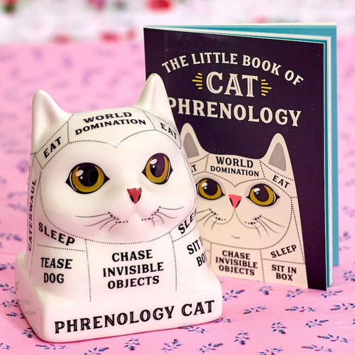 Mini Phrenology Cat - Hachette Book Group - AlwaysFits.com